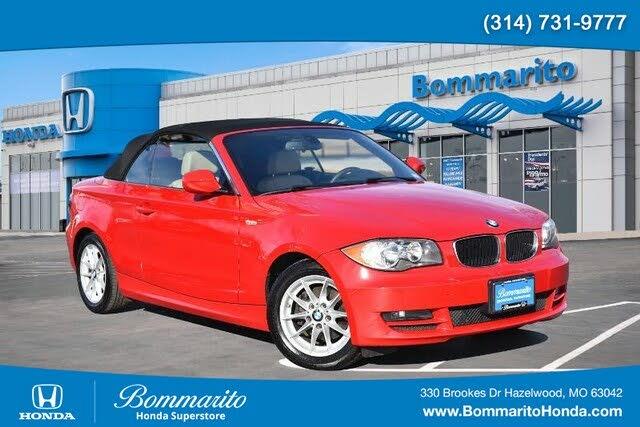 2010 BMW 1 Series 128i Convertible RWD