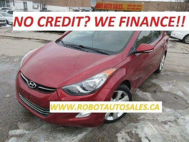 2012 Hyundai Elantra Limited Sedan FWD