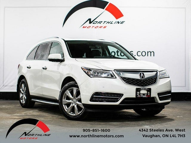 2014 Acura MDX SH-AWD with Elite Package