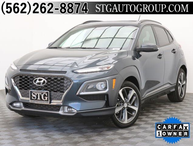 2018 Hyundai Kona Limited FWD with Lime Accent