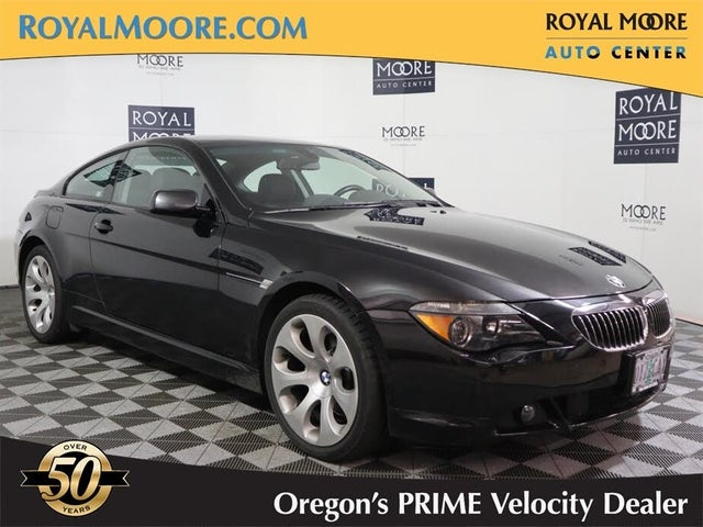 2005 BMW 6 Series 645Ci Coupe RWD