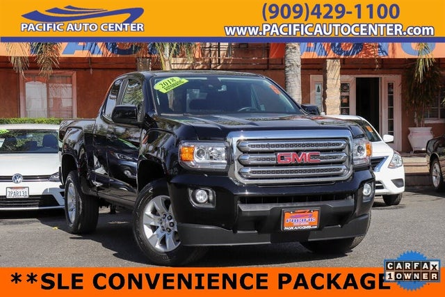 2018 GMC Canyon SLE Extended Cab RWD