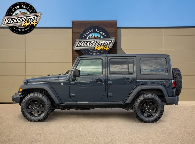 2017 Jeep Wrangler Unlimited Big Bear 4WD