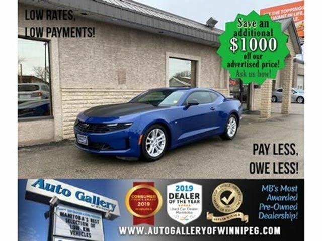 2019 Chevrolet Camaro 1LT Coupe RWD