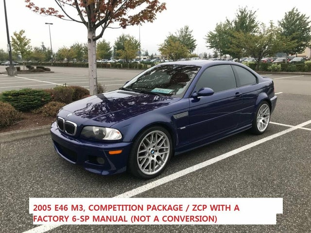 2005 BMW M3 Coupe RWD