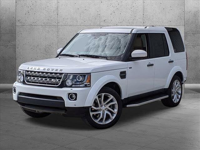 2016 Land Rover LR4 HSE LUX Landmark Edition 4WD
