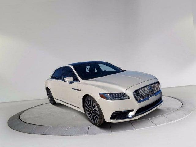 2017 Lincoln Continental Black Label FWD