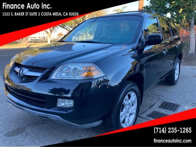 2005 Acura MDX AWD with Touring Package and Navigation