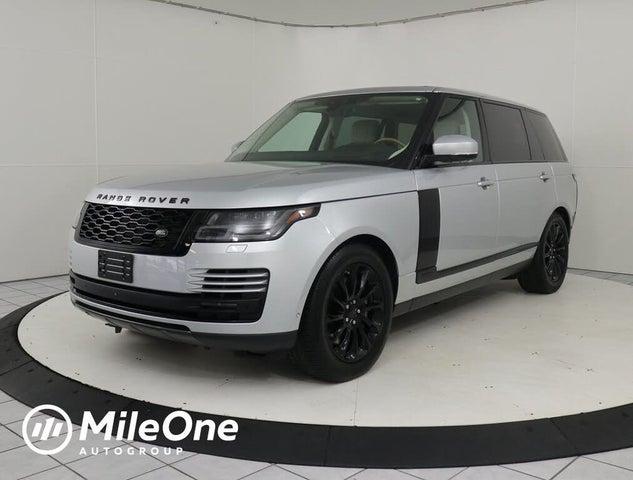 2018 Land Rover Range Rover V8 Supercharged LWB 4WD