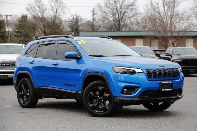 2020 Jeep Cherokee Altitude 4WD