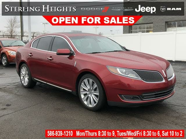 2015 Lincoln MKS EcoBoost AWD