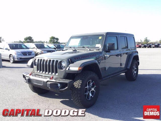 2021 Jeep Wrangler Unlimited Rubicon 4WD