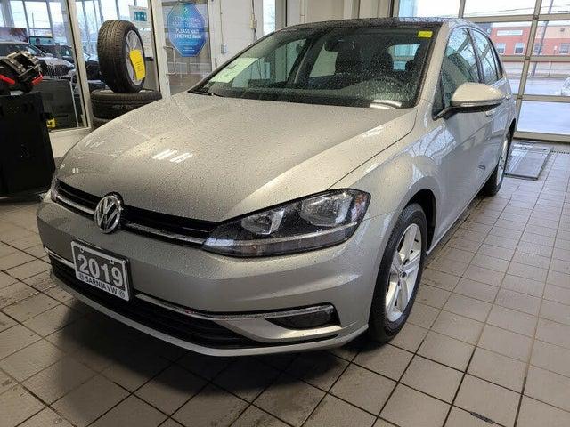 2019 Volkswagen Golf 1.4T Highline 4-Door FWD