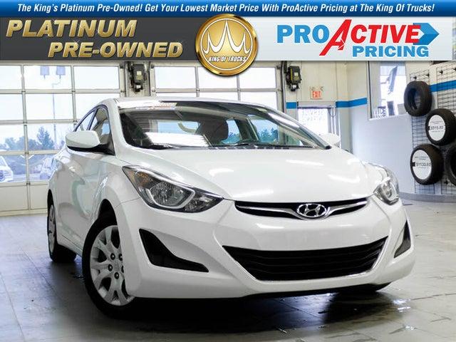 2014 Hyundai Elantra GL Sedan FWD
