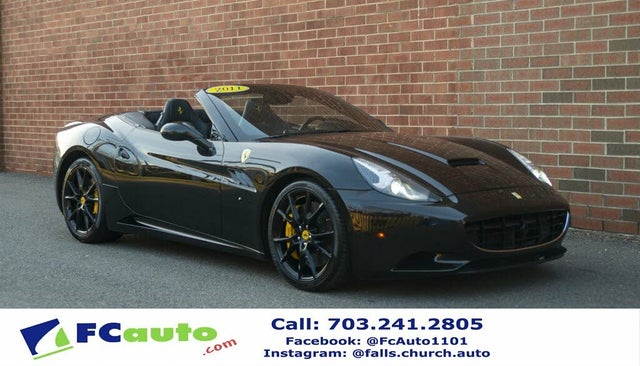 Used Ferrari California For Sale In Manassas Va Cargurus