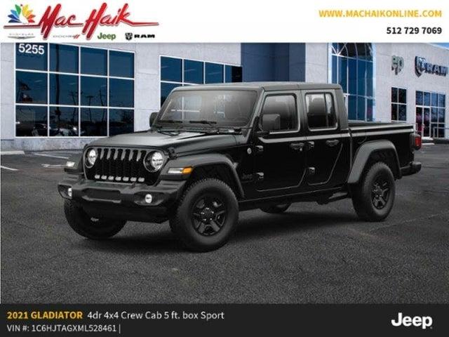 2021 Jeep Gladiator Sport Crew Cab 4WD