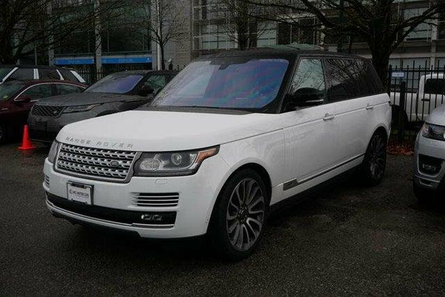 2017 Land Rover Range Rover V8 Autobiography LWB 4WD