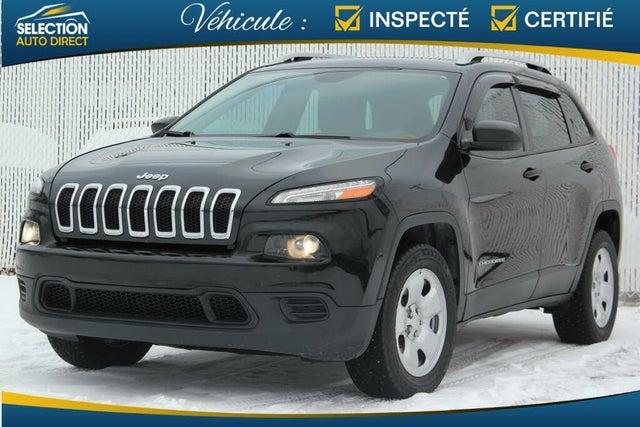 2016 Jeep Cherokee Sport 4WD