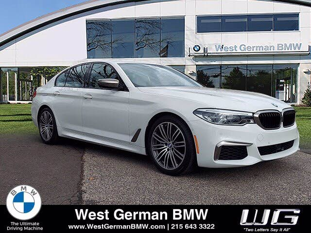 Used 2020 Bmw 5 Series M550i Xdrive Sedan Awd For Sale Right Now Cargurus
