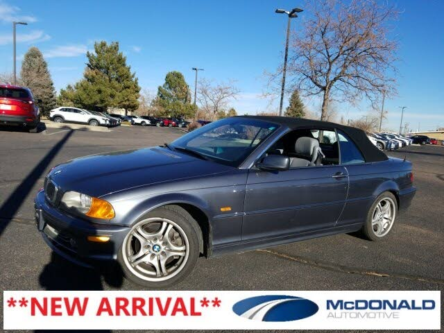 2001 BMW 3 Series 330Ci Convertible RWD