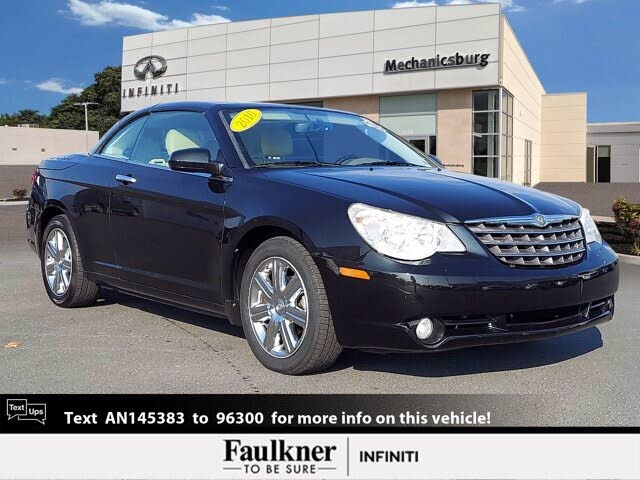 2010 Chrysler Sebring Limited Convertible FWD