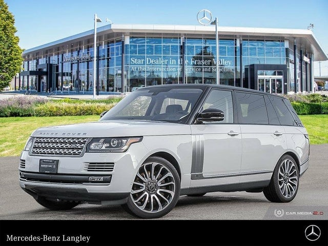 2016 Land Rover Range Rover V8 Autobiography LWB 4WD