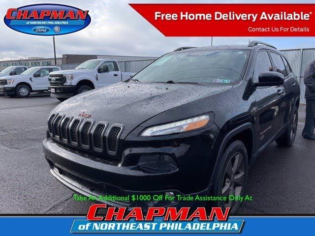 2017 Jeep Cherokee Latitude 75th Anniversary 4WD
