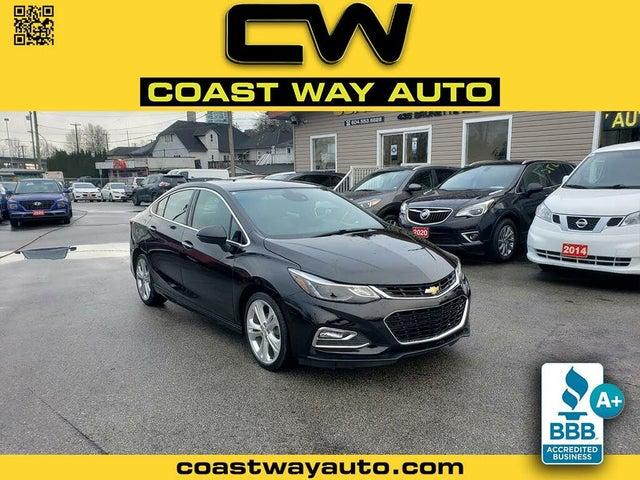 2016 Chevrolet Cruze Premier Sedan FWD