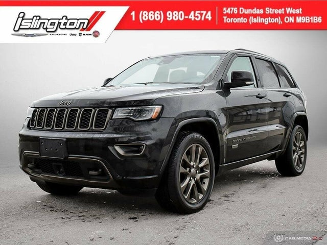 2017 Jeep Grand Cherokee Limited 75th Anniversary 4WD