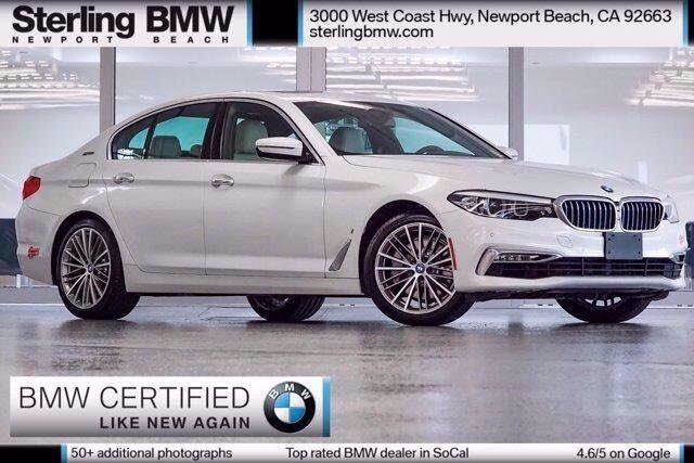 2018 BMW 5 Series 530e iPerformance Sedan RWD