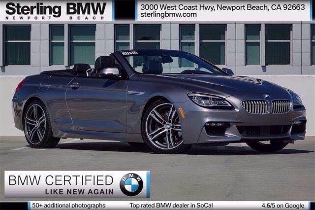 2018 BMW 6 Series 650i Convertible RWD