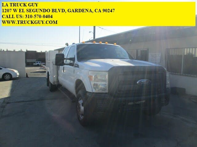 2011 Ford F-350 Super Duty Chassis XL Crew Cab DRW 4WD