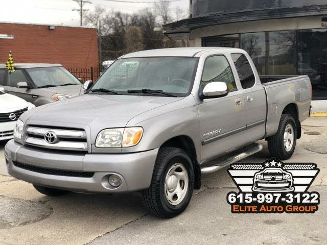 2006 Toyota Tundra SR5 4dr Access Cab SB with V6, manual