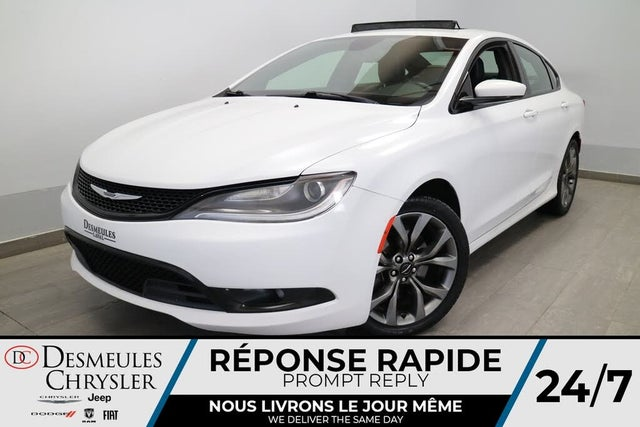 2015 Chrysler 200 S Sedan FWD