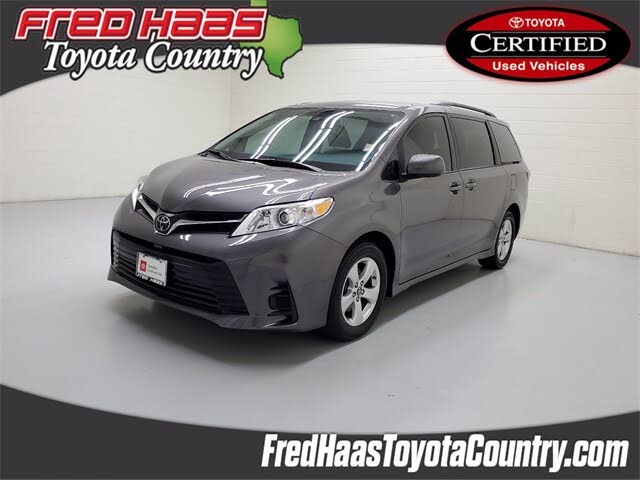 2018 Toyota Sienna LE 8-Passenger FWD