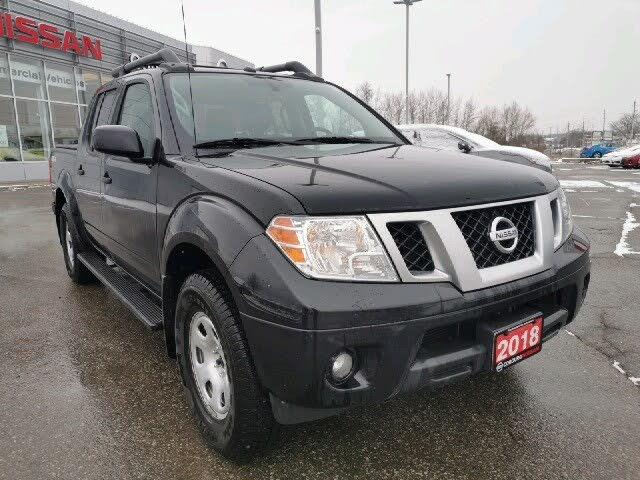 2018 Nissan Frontier PRO-4X Crew Cab 4WD