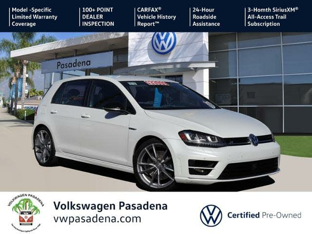 2017 Volkswagen Golf R 4-Door AWD with DCC and Navigation