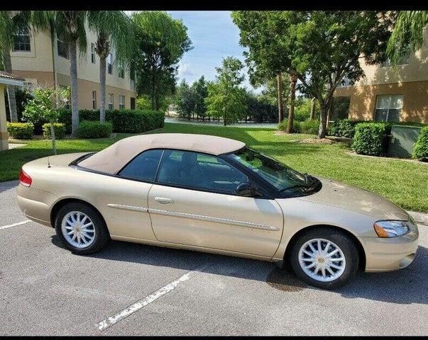 2001 Chrysler Sebring LXi Convertible FWD