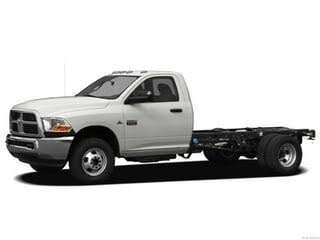 2012 RAM 4500 Chassis Crew Cab 4WD