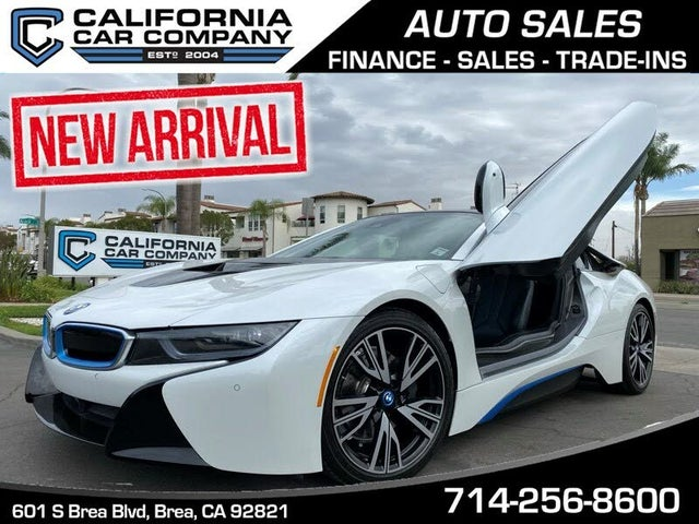 2016 BMW i8 Coupe AWD