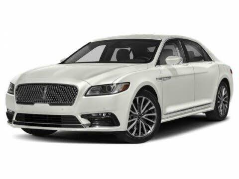 2018 Lincoln Continental Black Label FWD