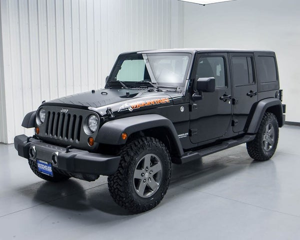 2010 Jeep Wrangler Unlimited Mountain 4WD