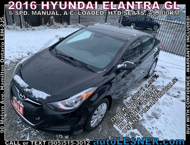 2016 Hyundai Elantra GL Sedan FWD