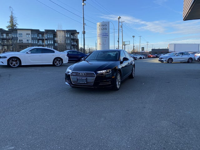 2017 Audi A4 2.0T quattro Progressiv AWD