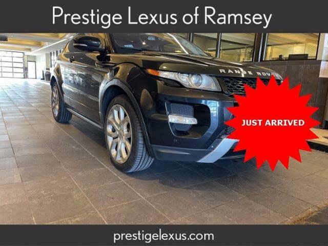 2012 Land Rover Range Rover Evoque Dynamic Coupe AWD