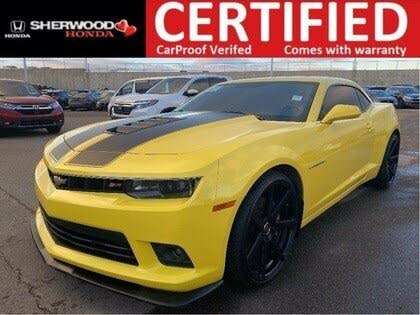 2015 Chevrolet Camaro 2SS Coupe RWD