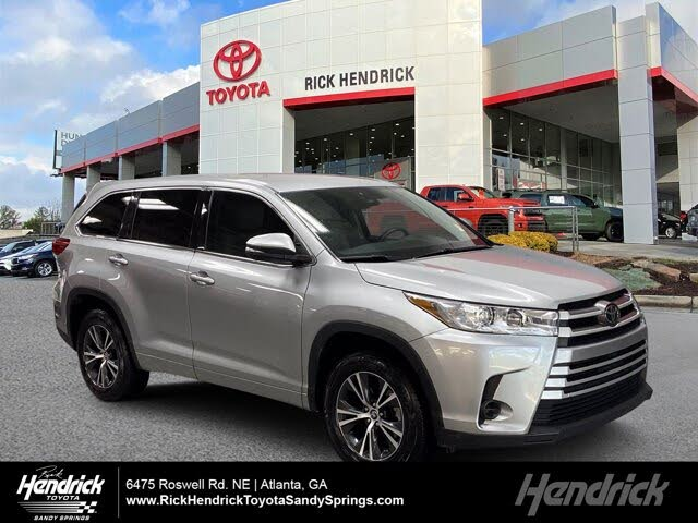 2017 Toyota Highlander LE i4