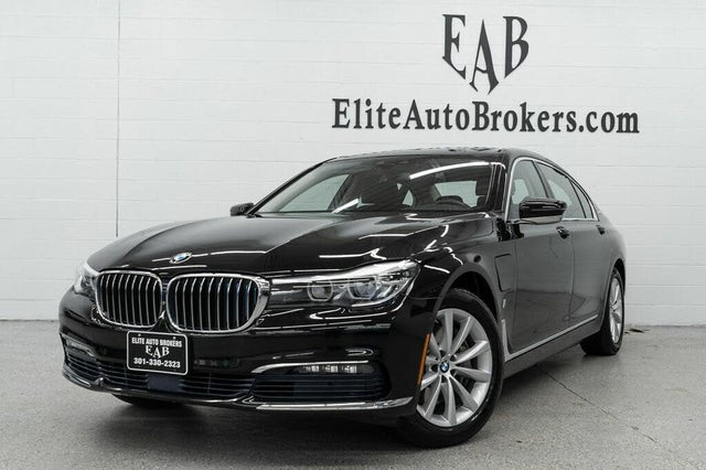 2017 BMW 7 Series 740e xDrive iPerformance AWD