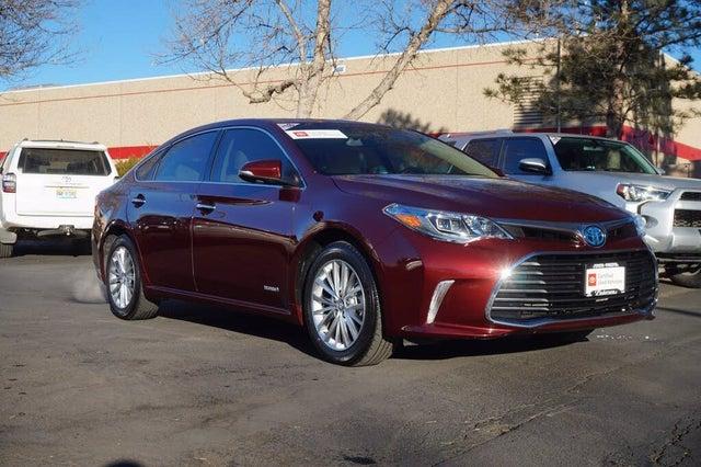 2018 Toyota Avalon Hybrid Limited FWD