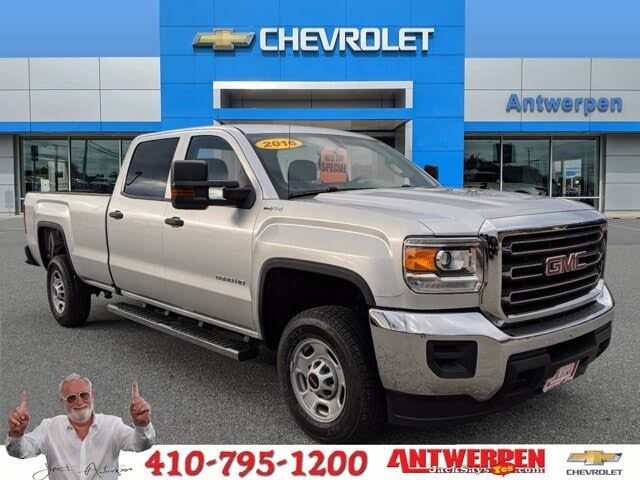2016 GMC Sierra 2500HD Base Crew Cab LB 4WD